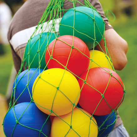Assorted Playground Balls 12pk  large