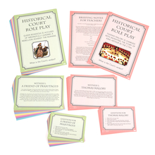 Historical Court Role Play Classroom Game  medium