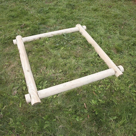 Wooden Mud Pit Frame  large