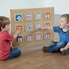 Wooden Recordable Talking Wall Panel 12 Big Points  small