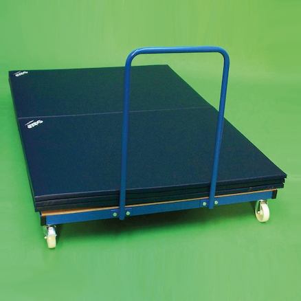 Horizontal Gym Mat Trolley  large