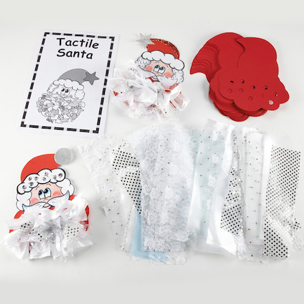Tactile 3D Christmas Decorations 30pk  large