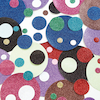 Glitter Paper Mixed Circles Assorted 3000pk  small