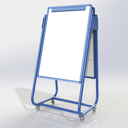 Mobile Magnetic Display Easels  large