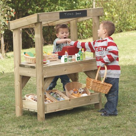 Outdoor Wooden Play Furniture Selection  large