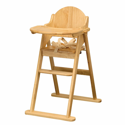Wooden Folding Highchair  large