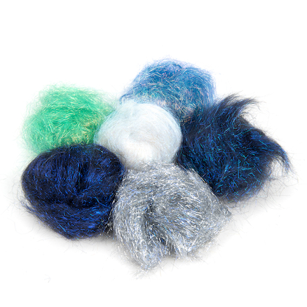 Angelina Fibres Cool Colours 10g 6pk  large