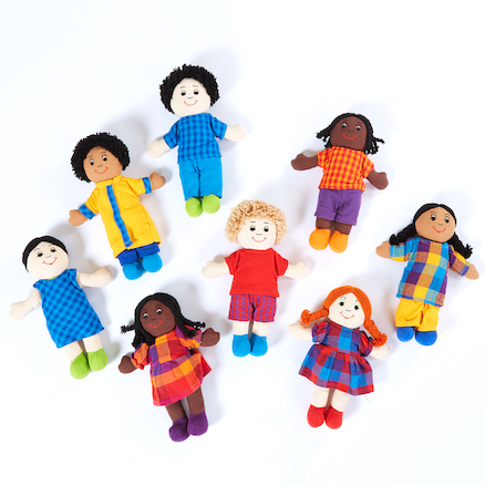 Mini Children of Our Community Dolls  large