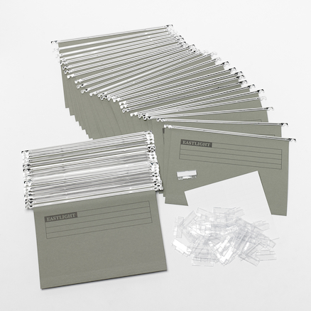 Foolscap Suspension Files 180gsm 50pk  large