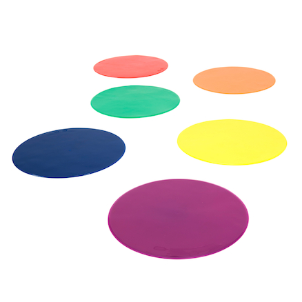 Rubber Floor Spot Markers  large
