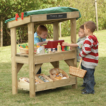 Outdoor Wooden Role Play Shop  medium