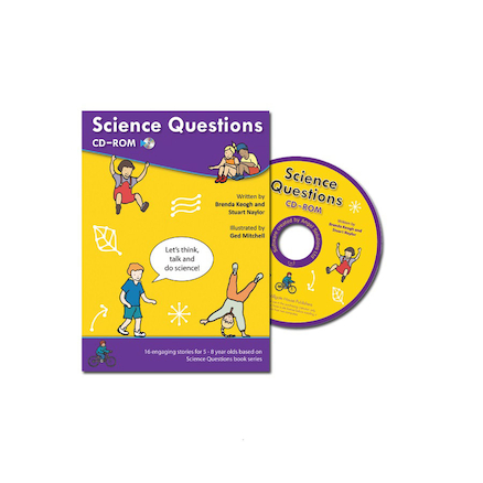 Concept Cartoons Science Questions CD Rom  large