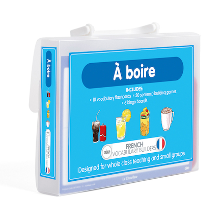 French Vocabulary Builders \- Drinks  large