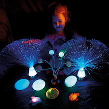 Light Up Dark Den Sensory Kit 10pcs  medium