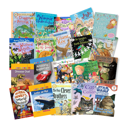15 Minute Power Read Books 20pk  large
