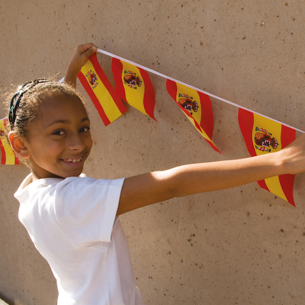 Spanish Flag Bunting  large