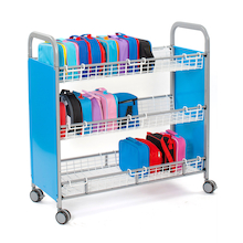 30 Lunchbox Metal Trolley  medium