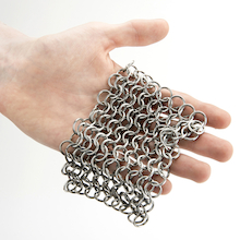 Anglo Saxon Chainmail Patch 2pk  medium