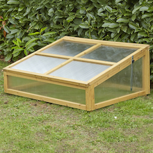 Cold Frame Natural Wood  medium