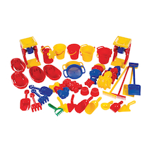 Giant Sand and Water Accessories 38pcs  medium