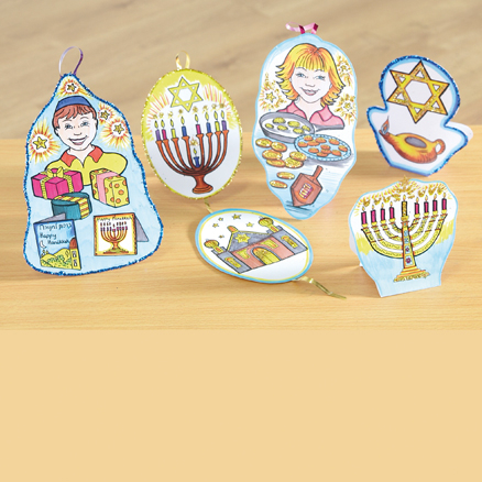 Hannukah Art and Craft Activity Pack  large