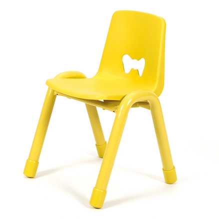 Valencia Classroom Chair 30pk Yellow 380mm  large