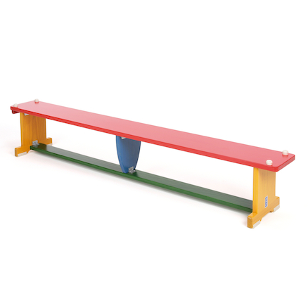 Multi Coloured Gym Bench  large