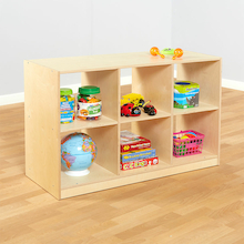 Essentials Indoor Wooden Bookcase  medium