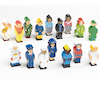 Small World Occupation Figures Set 16pcs  small