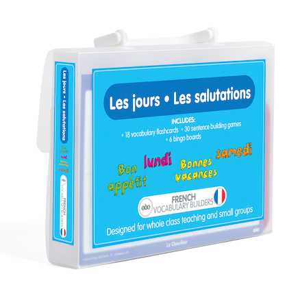 French Vocabulary Builders \- Days and Greetings  large