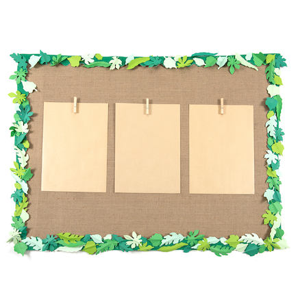 Small Spring\/Summer Paper Leaves Assorted 250pk  large