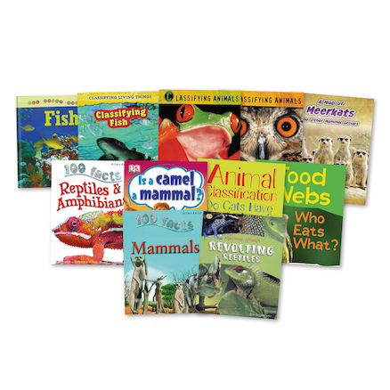 KS2 Animal Classification Books 10pk  large