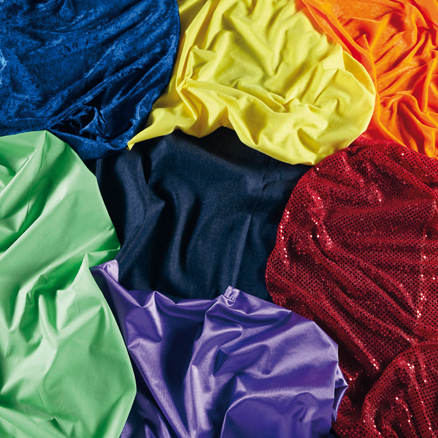 Rainbow Texture Fabric 7pk  large