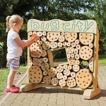 Wooden Bug City  medium