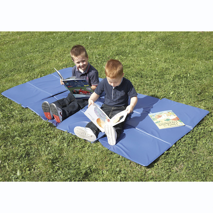 3 Section Folding PVC Mat  large