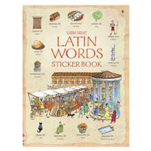 Latin Words Sticker Book  medium