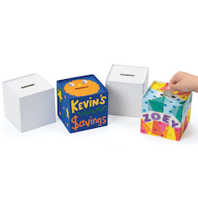 Papier Mache Money Banks 12pk  medium