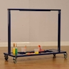 Manoeuvrable Clear Acrylic Painting Easel  small