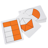 Large Fraction Flash Cards  small