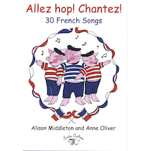 Allez Hop! Cantez! French Singing Book and CD  medium