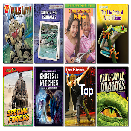 KS3 Accelerated Reader Level 4\-5 Book Pack 8pk  large