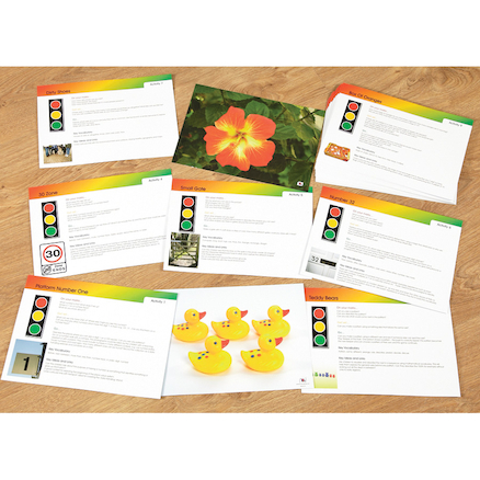 Maths Photos and Activity Cards 30pcs  large