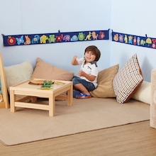 Literacy Fabric Bunting  medium