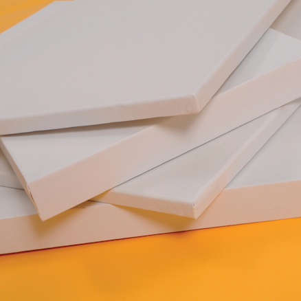 Standard Edged Blank Canvas  large