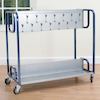 Steel Frame Classroom Cloakroom Trolley  small