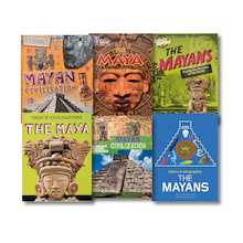 Mayan Book Pack 6pk  medium