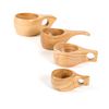 Assorted Sizes Wooden Cup Collection  small