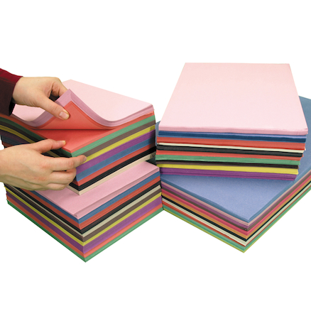 Sugar Paper Assorted 2750pk  large