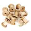 Wooden Craft Spools 10pk  small