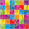 Bee\-Bot® Snakes and Ladders Mat  small